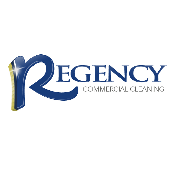 Logo Design by red46 - Entry No. 120 in the Logo Design Contest Regency Commercial Cleaning.