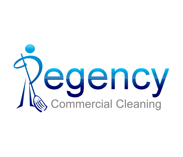 Logo Design by R1CK_ART - Entry No. 130 in the Logo Design Contest Regency Commercial Cleaning.