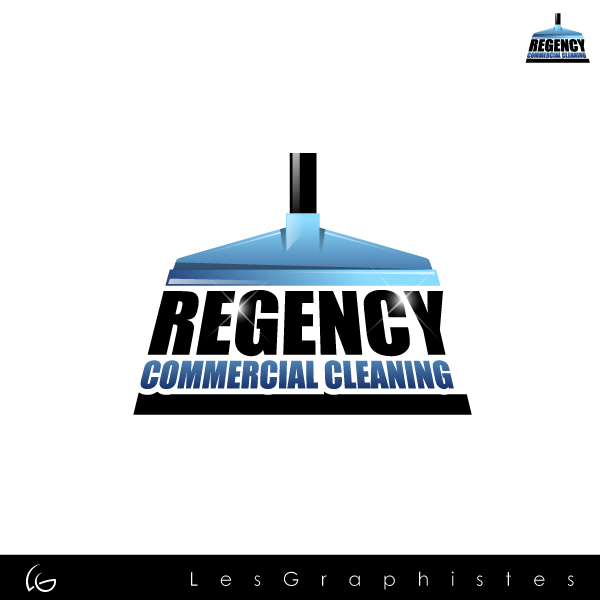 Logo Design by Les-Graphistes - Entry No. 148 in the Logo Design Contest Regency Commercial Cleaning.
