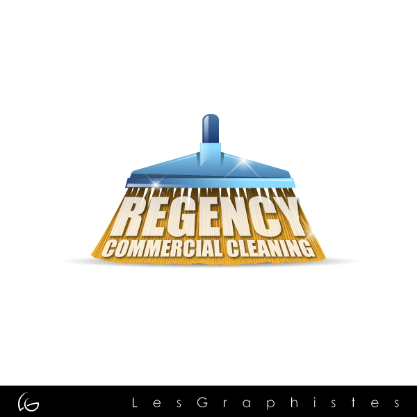 Logo Design by Les-Graphistes - Entry No. 149 in the Logo Design Contest Regency Commercial Cleaning.