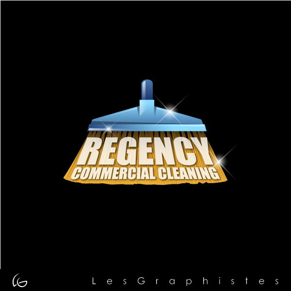 Logo Design by Les-Graphistes - Entry No. 150 in the Logo Design Contest Regency Commercial Cleaning.