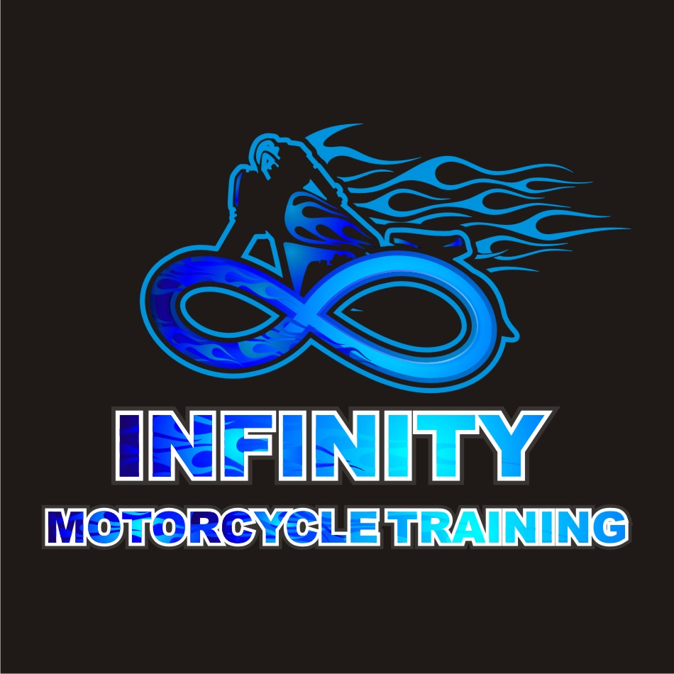 Logo Design by vector.five - Entry No. 45 in the Logo Design Contest INFINITY MOTORCYCLE TRAINING.