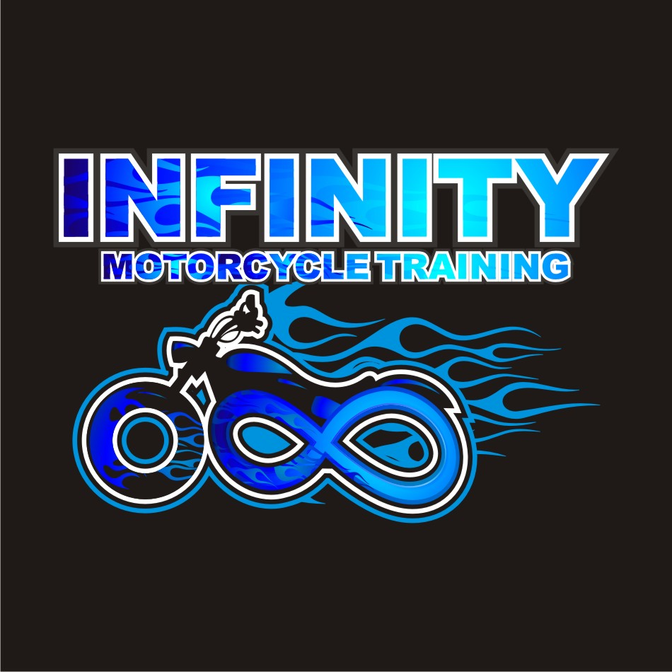 Logo Design by vector.five - Entry No. 48 in the Logo Design Contest INFINITY MOTORCYCLE TRAINING.