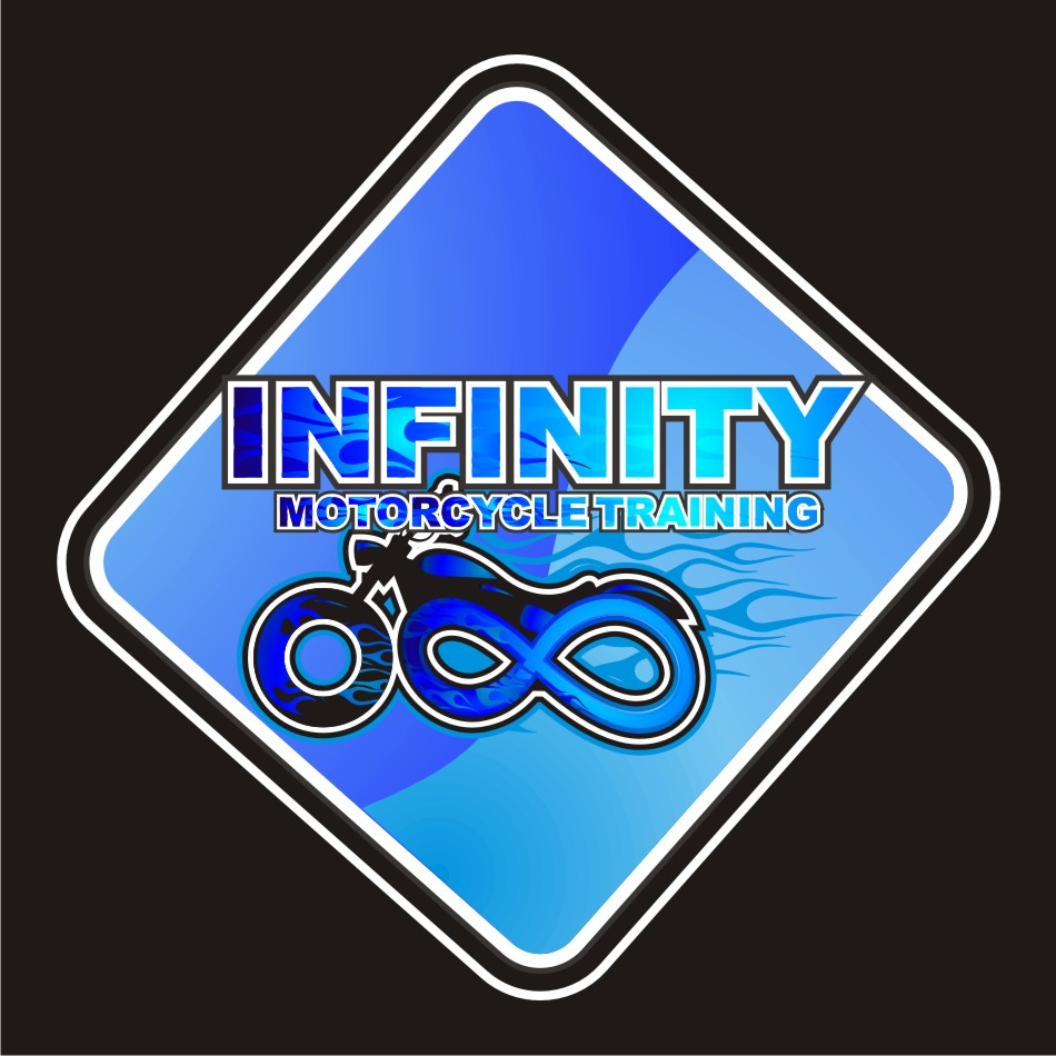 Logo Design by vector.five - Entry No. 49 in the Logo Design Contest INFINITY MOTORCYCLE TRAINING.