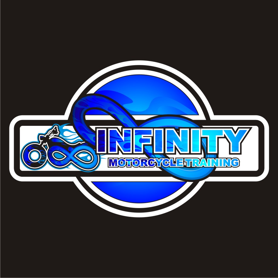 Logo Design by vector.five - Entry No. 51 in the Logo Design Contest INFINITY MOTORCYCLE TRAINING.