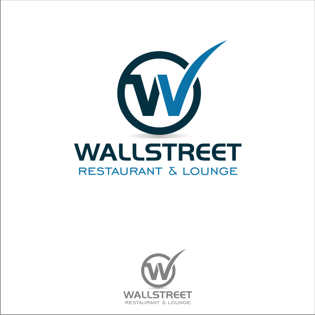Logo Design by key - Entry No. 46 in the Logo Design Contest Wallstreet Restaurant & Lounge.