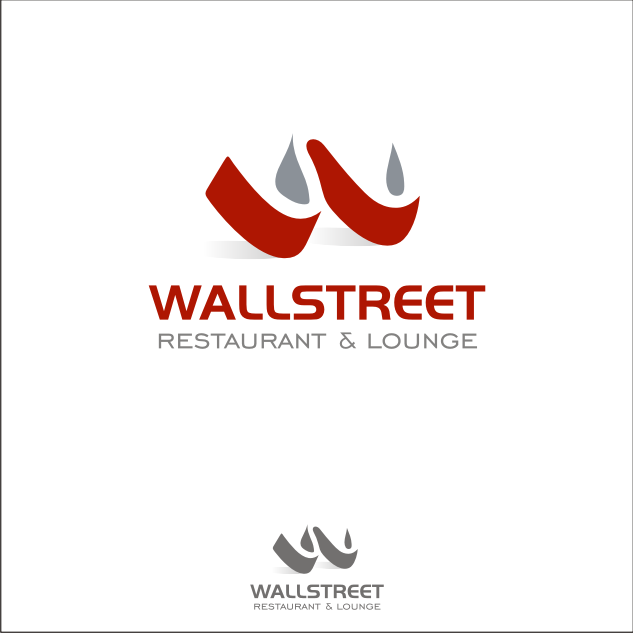 Logo Design by key - Entry No. 47 in the Logo Design Contest Wallstreet Restaurant & Lounge.