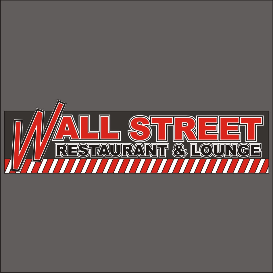 Logo Design by vector.five - Entry No. 50 in the Logo Design Contest Wallstreet Restaurant & Lounge.