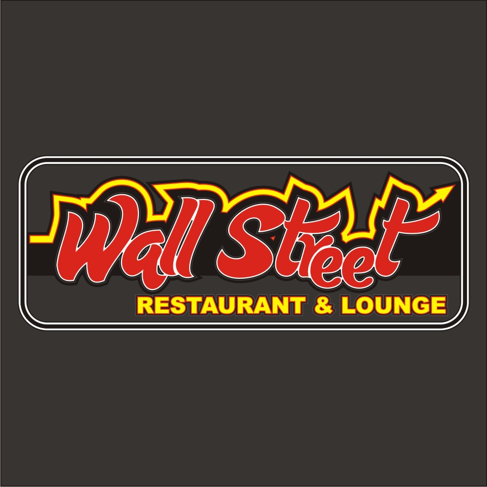 Logo Design by vector.five - Entry No. 51 in the Logo Design Contest Wallstreet Restaurant & Lounge.