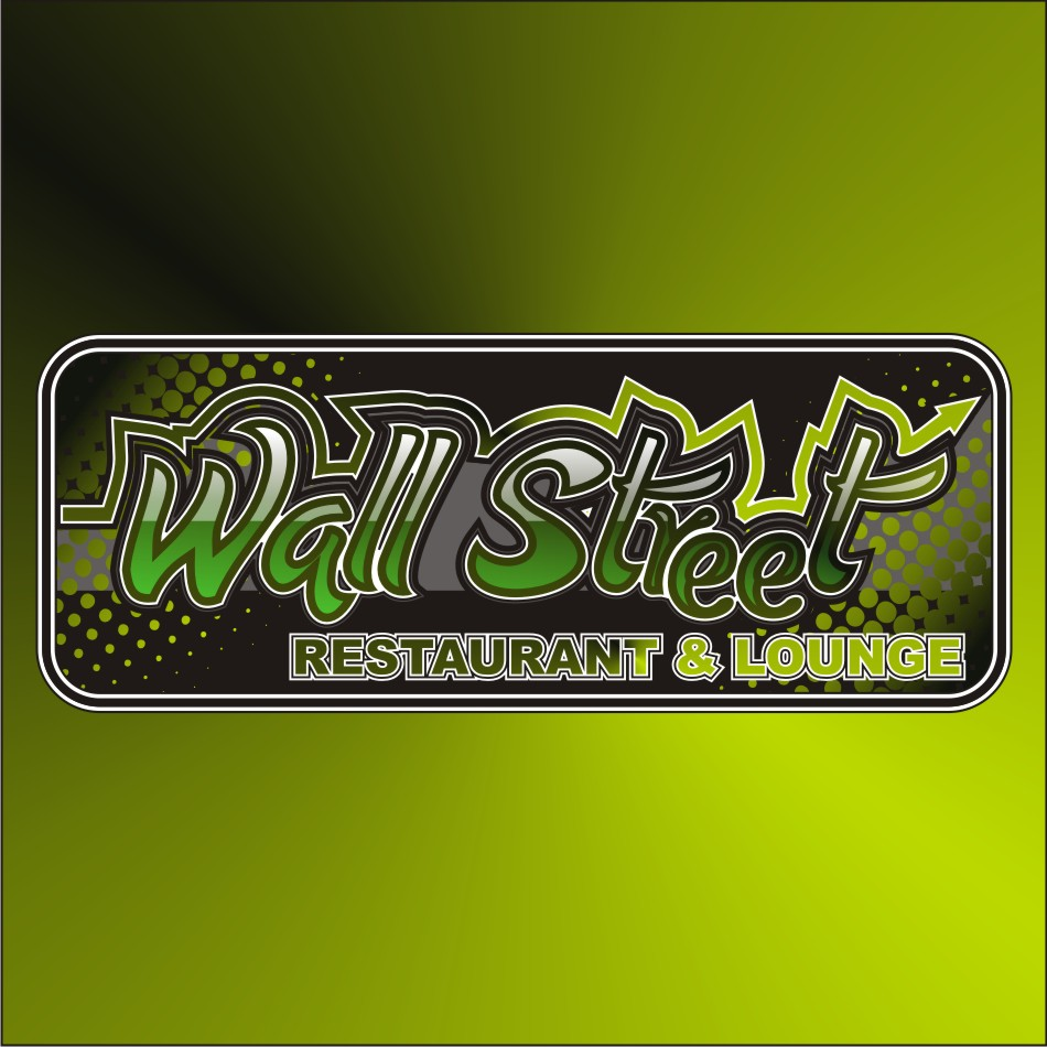 Logo Design by vector.five - Entry No. 59 in the Logo Design Contest Wallstreet Restaurant & Lounge.