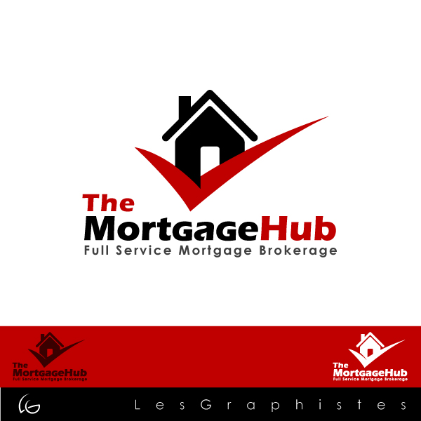Logo Design by Les-Graphistes - Entry No. 3 in the Logo Design Contest The Mortgage Hub.
