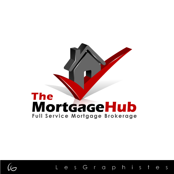 Logo Design by Les-Graphistes - Entry No. 4 in the Logo Design Contest The Mortgage Hub.