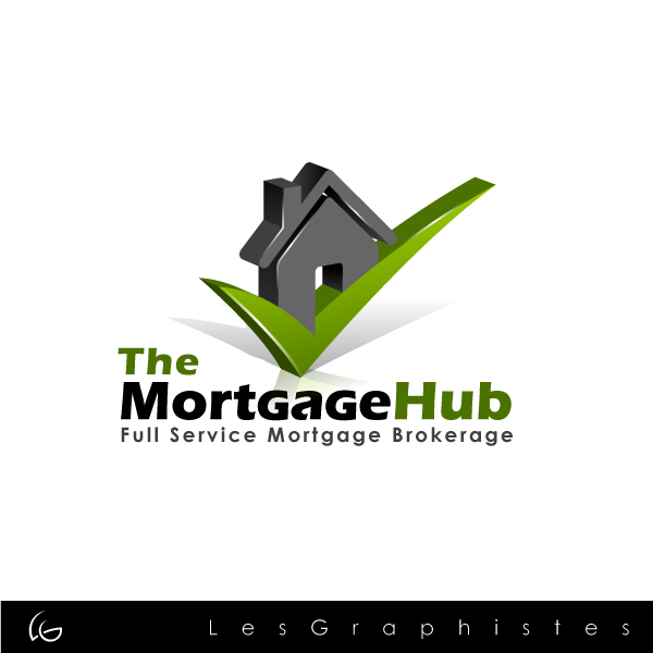 Logo Design by Les-Graphistes - Entry No. 5 in the Logo Design Contest The Mortgage Hub.