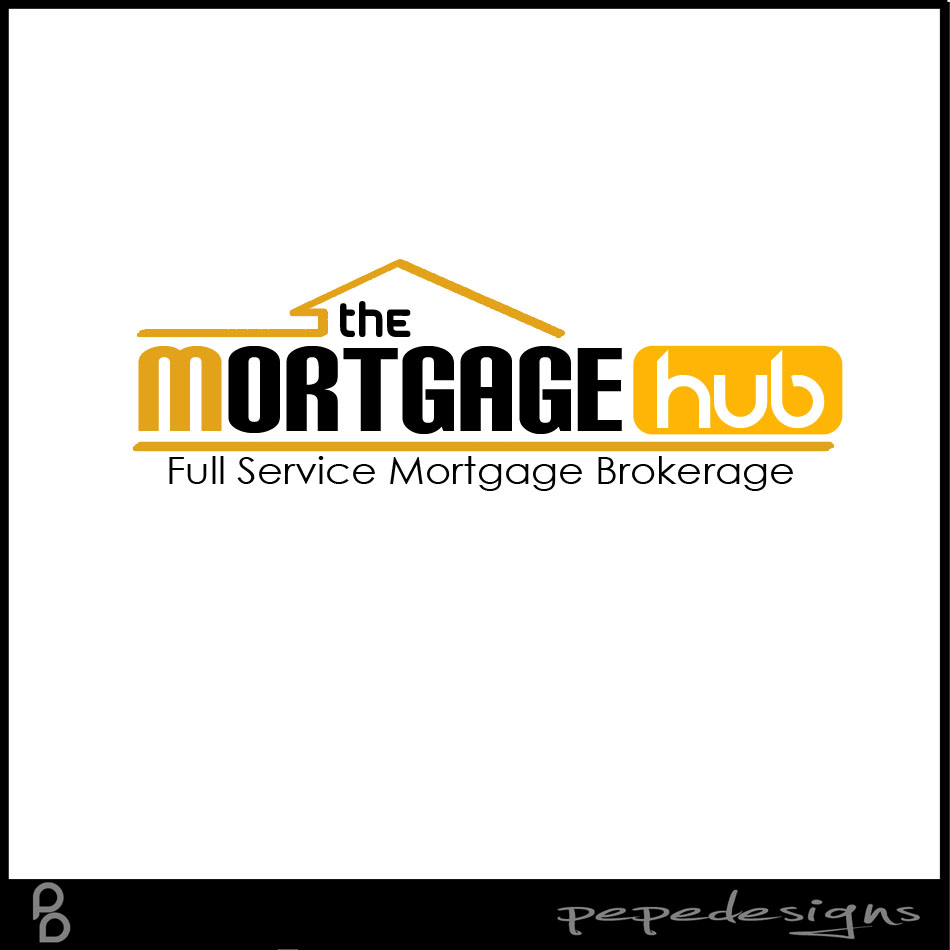Logo Design by Joseph Neal Lacatan - Entry No. 8 in the Logo Design Contest The Mortgage Hub.