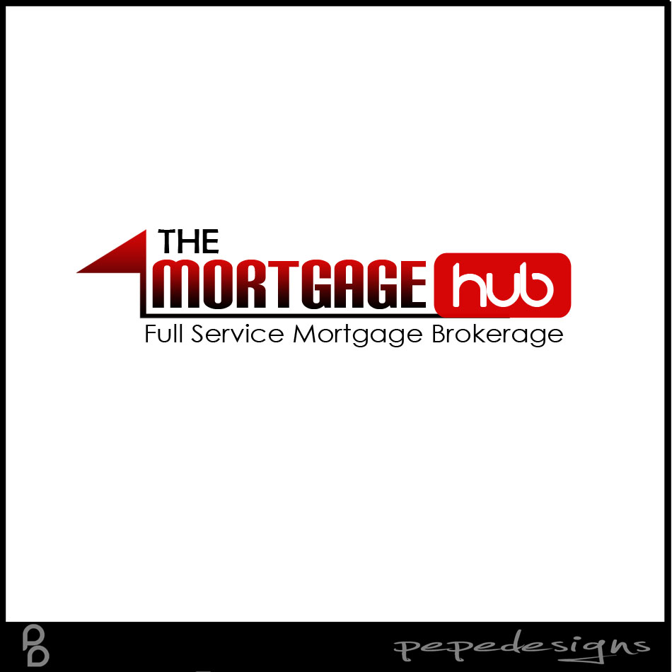 Logo Design by Joseph Lemuel Lacatan - Entry No. 9 in the Logo Design Contest The Mortgage Hub.
