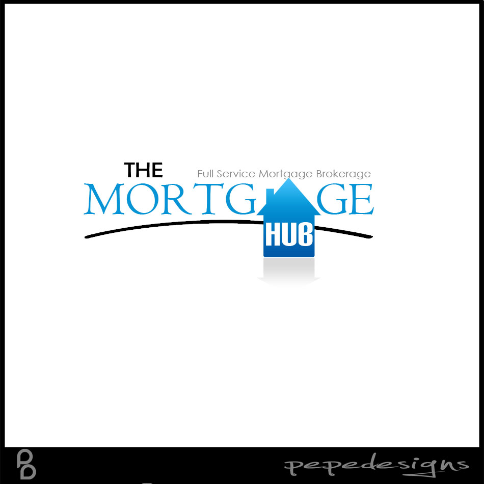 Logo Design by Joseph Lemuel Lacatan - Entry No. 10 in the Logo Design Contest The Mortgage Hub.