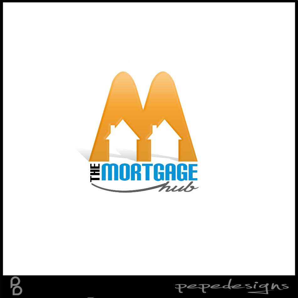 Logo Design by Joseph Lemuel Lacatan - Entry No. 11 in the Logo Design Contest The Mortgage Hub.