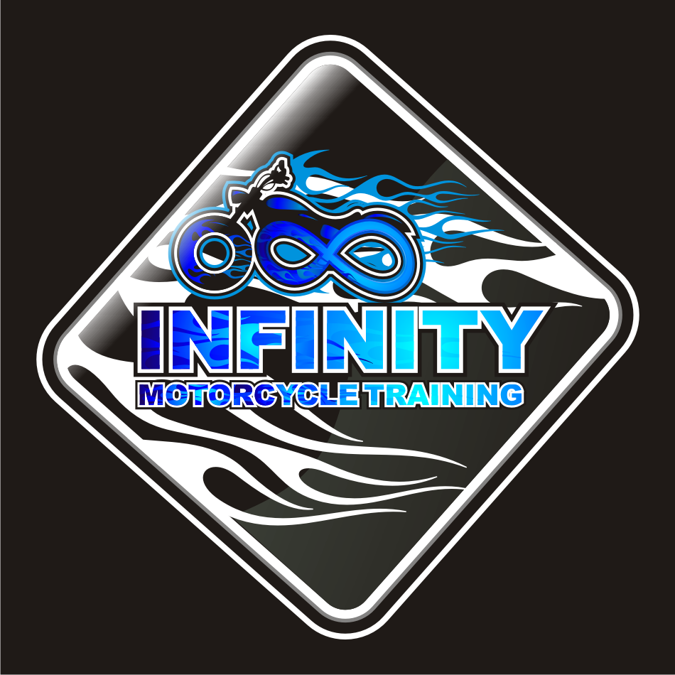 Logo Design by vector.five - Entry No. 54 in the Logo Design Contest INFINITY MOTORCYCLE TRAINING.