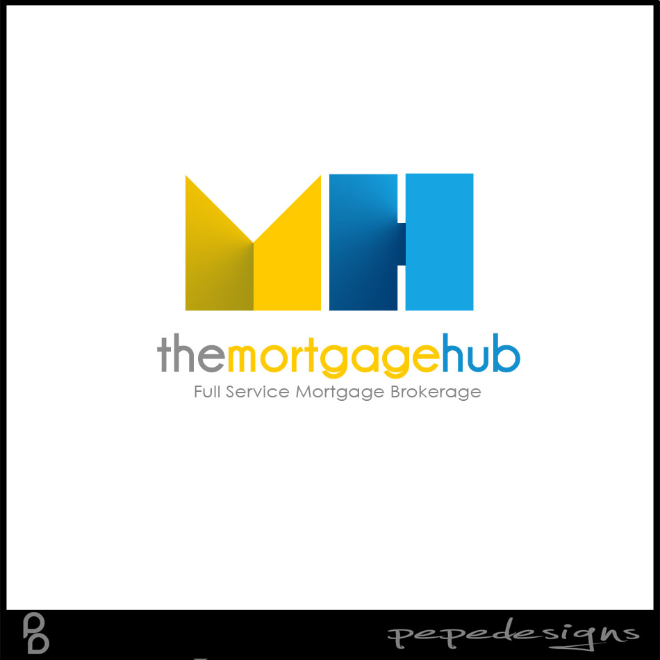 Logo Design by Private User - Entry No. 18 in the Logo Design Contest The Mortgage Hub.