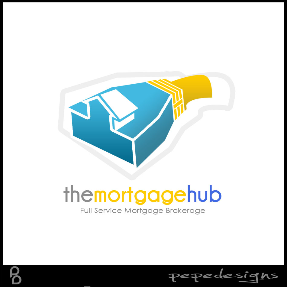 Logo Design by Private User - Entry No. 19 in the Logo Design Contest The Mortgage Hub.