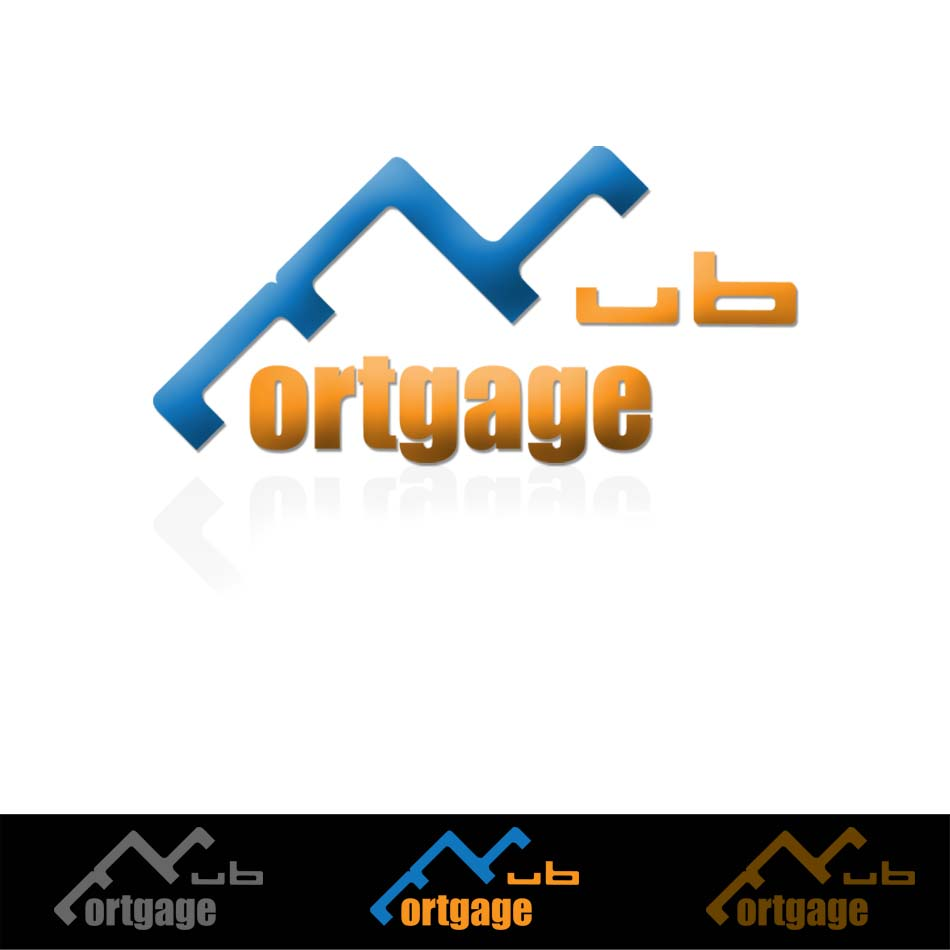 Logo Design by ipay_psywar - Entry No. 21 in the Logo Design Contest The Mortgage Hub.