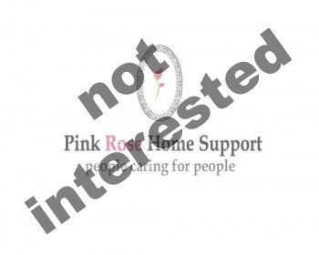 Logo Design by cadmium-red - Entry No. 17 in the Logo Design Contest Pink Rose Home Support Services.