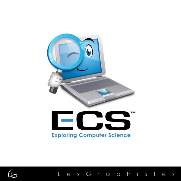 Logo Design by Les-Graphistes - Entry No. 5 in the Logo Design Contest ECS - Exploring Computer Science.