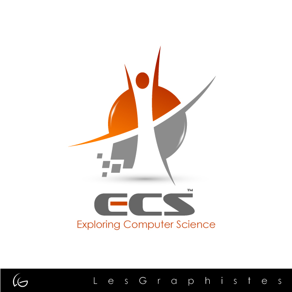 Logo Design by Les-Graphistes - Entry No. 6 in the Logo Design Contest ECS - Exploring Computer Science.