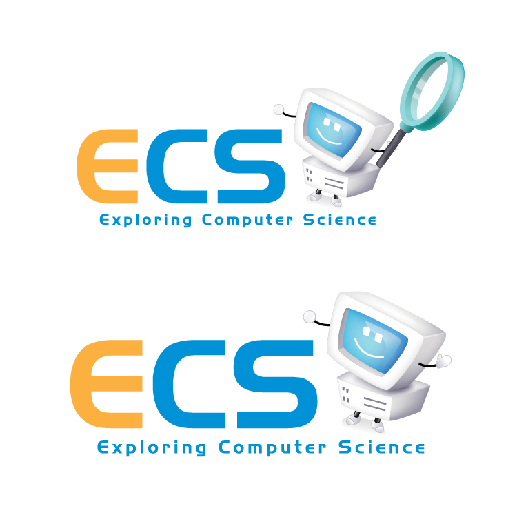 Logo Design by aesthetic-art - Entry No. 9 in the Logo Design Contest ECS - Exploring Computer Science.