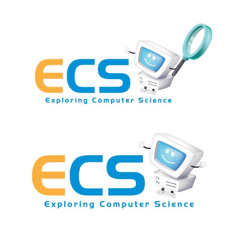 Logo Design by aesthetic-art - Entry No. 9 in the Logo Design Contest ECS - Exploring Computer Science.