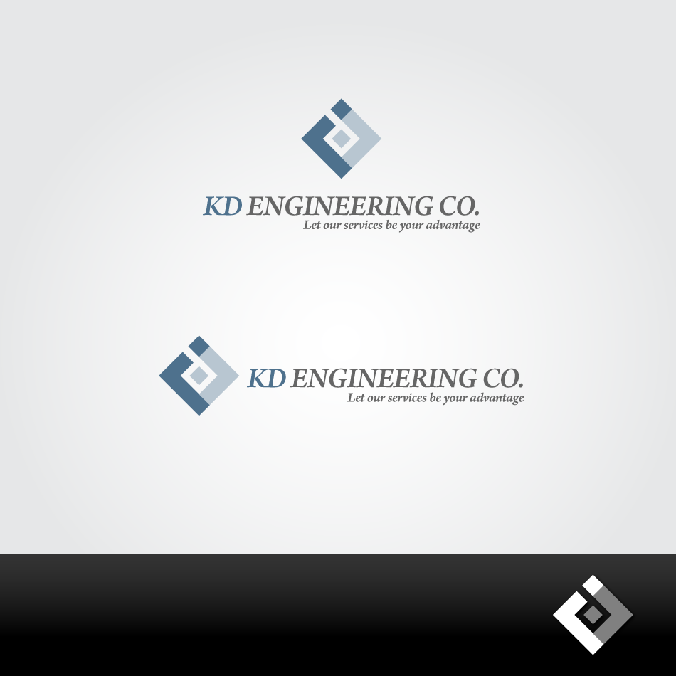 Logo Design by GraySource - Entry No. 13 in the Logo Design Contest KD Engineering Co..