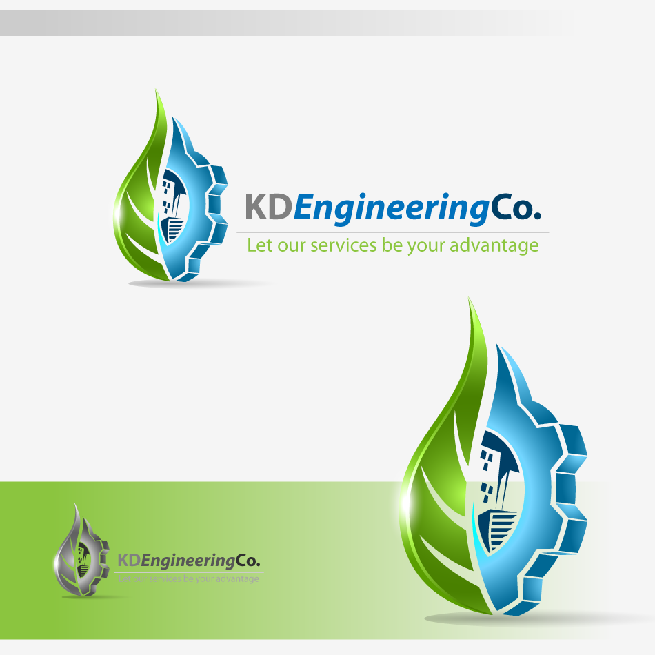 Logo Design by zesthar - Entry No. 14 in the Logo Design Contest KD Engineering Co..