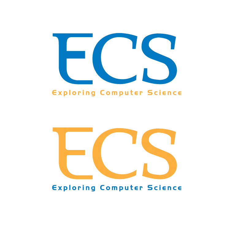 Logo Design by aesthetic-art - Entry No. 25 in the Logo Design Contest ECS - Exploring Computer Science.