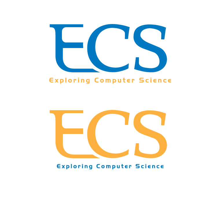 Logo Design by aesthetic-art - Entry No. 26 in the Logo Design Contest ECS - Exploring Computer Science.