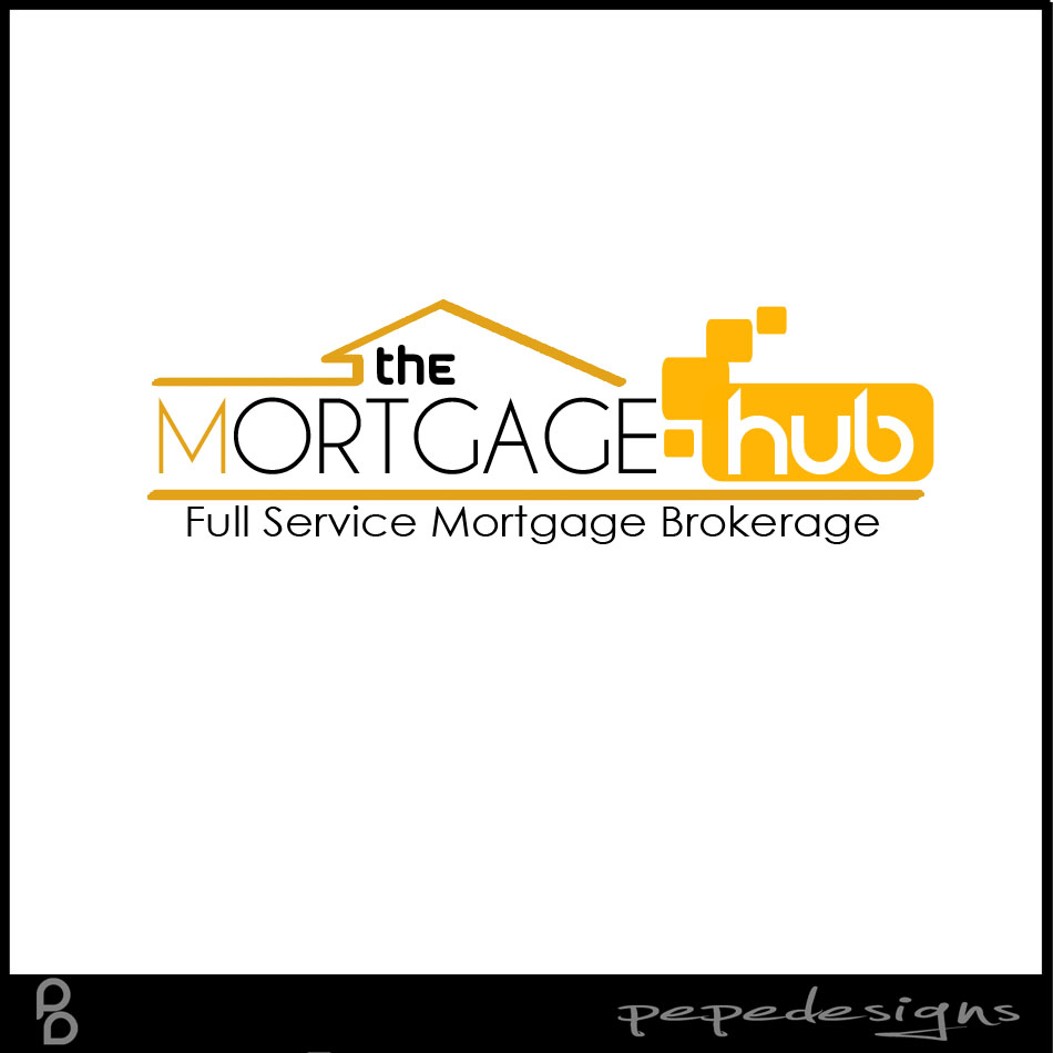 Logo Design by Joseph Neal Lacatan - Entry No. 46 in the Logo Design Contest The Mortgage Hub.