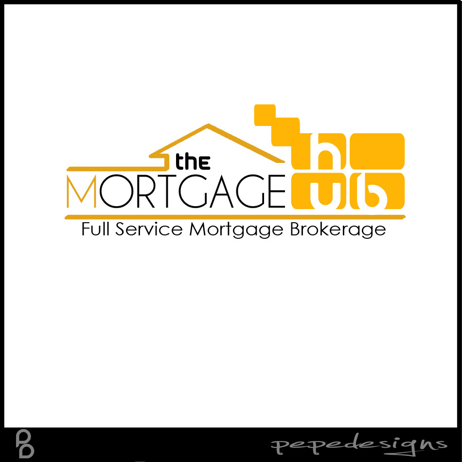 Logo Design by Joseph Neal Lacatan - Entry No. 47 in the Logo Design Contest The Mortgage Hub.