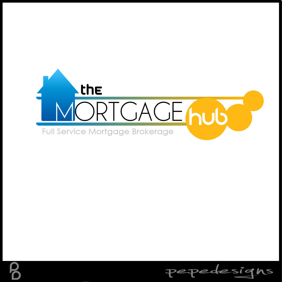Logo Design by Joseph Neal Lacatan - Entry No. 48 in the Logo Design Contest The Mortgage Hub.