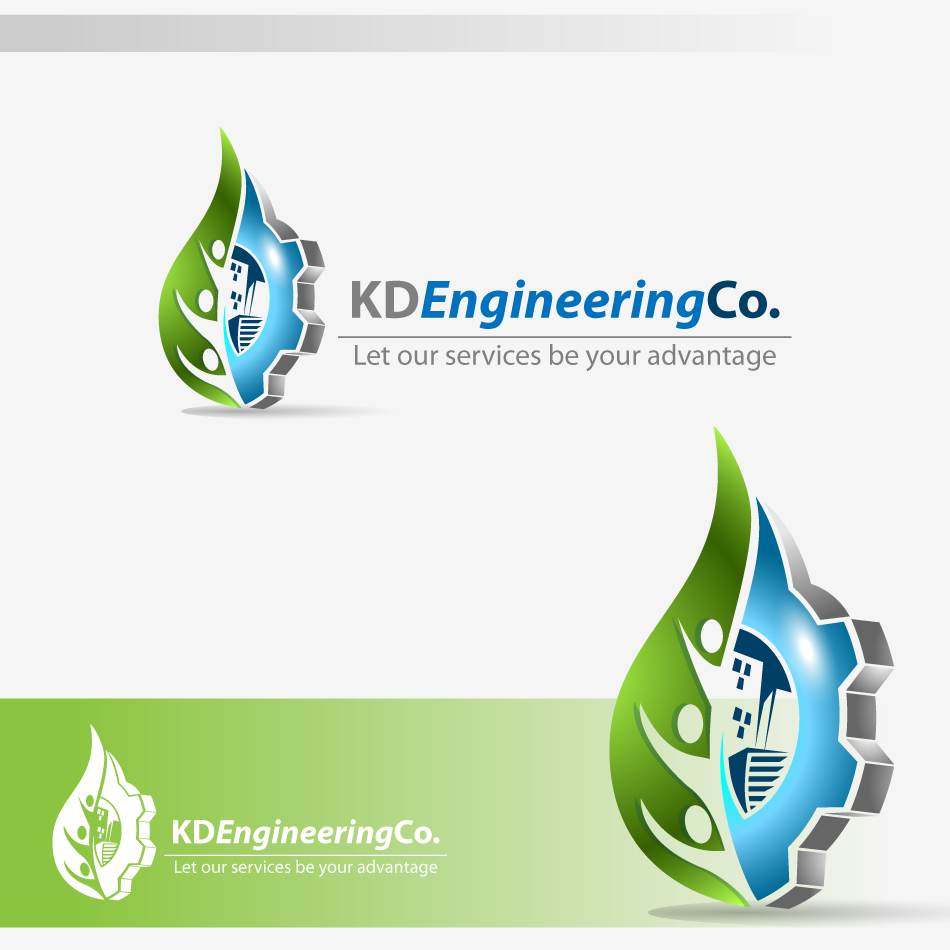 Logo Design by zesthar - Entry No. 21 in the Logo Design Contest KD Engineering Co..