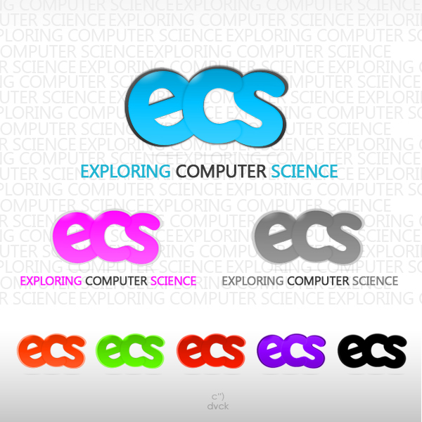 Logo Design by rockpinoy - Entry No. 47 in the Logo Design Contest ECS - Exploring Computer Science.