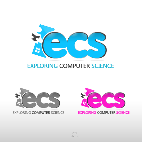 Logo Design by rockpinoy - Entry No. 50 in the Logo Design Contest ECS - Exploring Computer Science.
