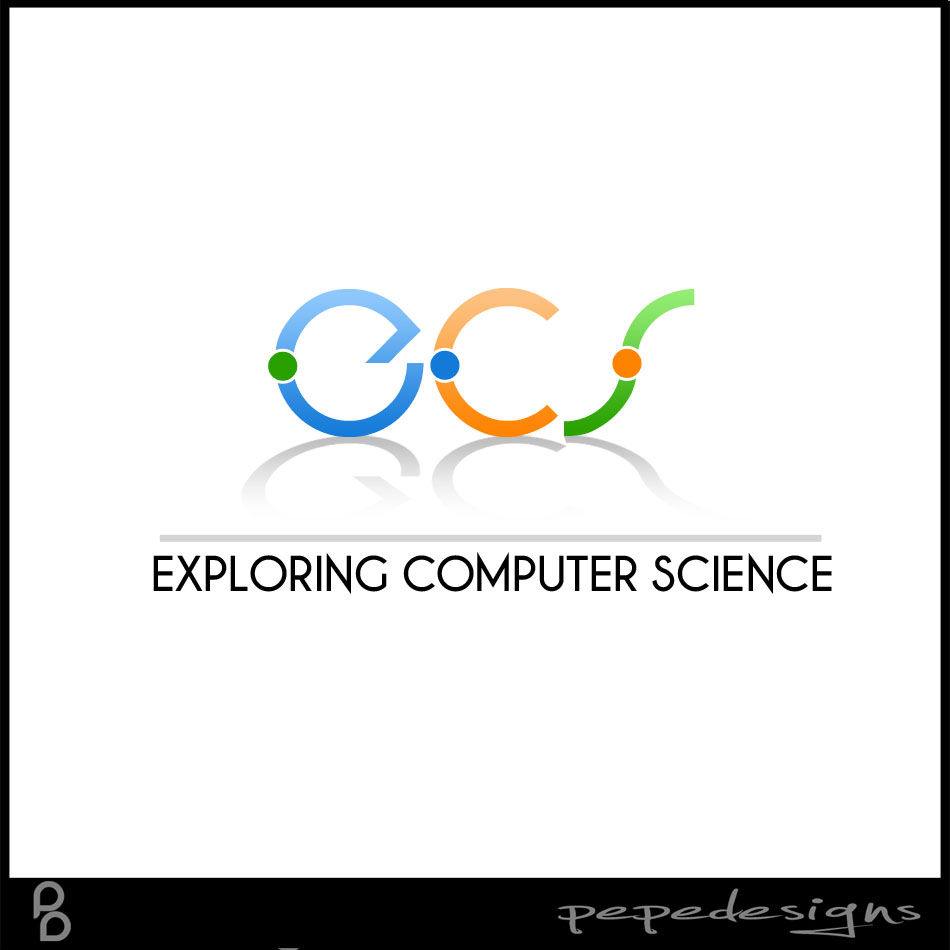 Logo Design by Joseph Lemuel Lacatan - Entry No. 84 in the Logo Design Contest ECS - Exploring Computer Science.