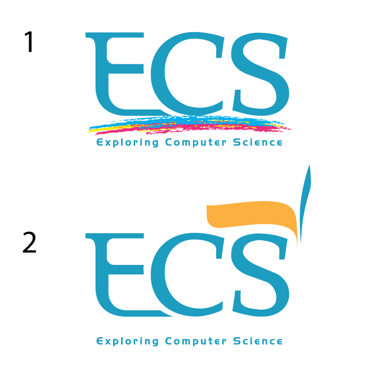 Logo Design by aesthetic-art - Entry No. 112 in the Logo Design Contest ECS - Exploring Computer Science.