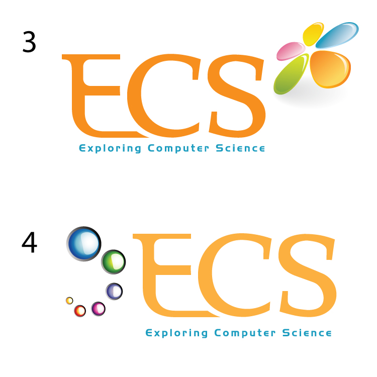Logo Design by aesthetic-art - Entry No. 113 in the Logo Design Contest ECS - Exploring Computer Science.