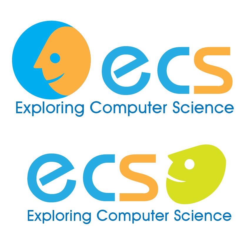 Logo Design by aesthetic-art - Entry No. 130 in the Logo Design Contest ECS - Exploring Computer Science.