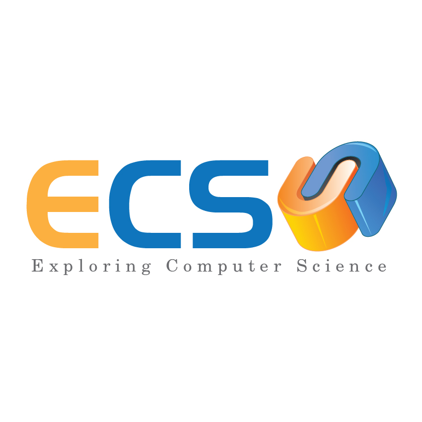 Logo Design by aesthetic-art - Entry No. 131 in the Logo Design Contest ECS - Exploring Computer Science.