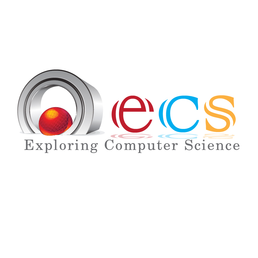 Logo Design by aesthetic-art - Entry No. 133 in the Logo Design Contest ECS - Exploring Computer Science.