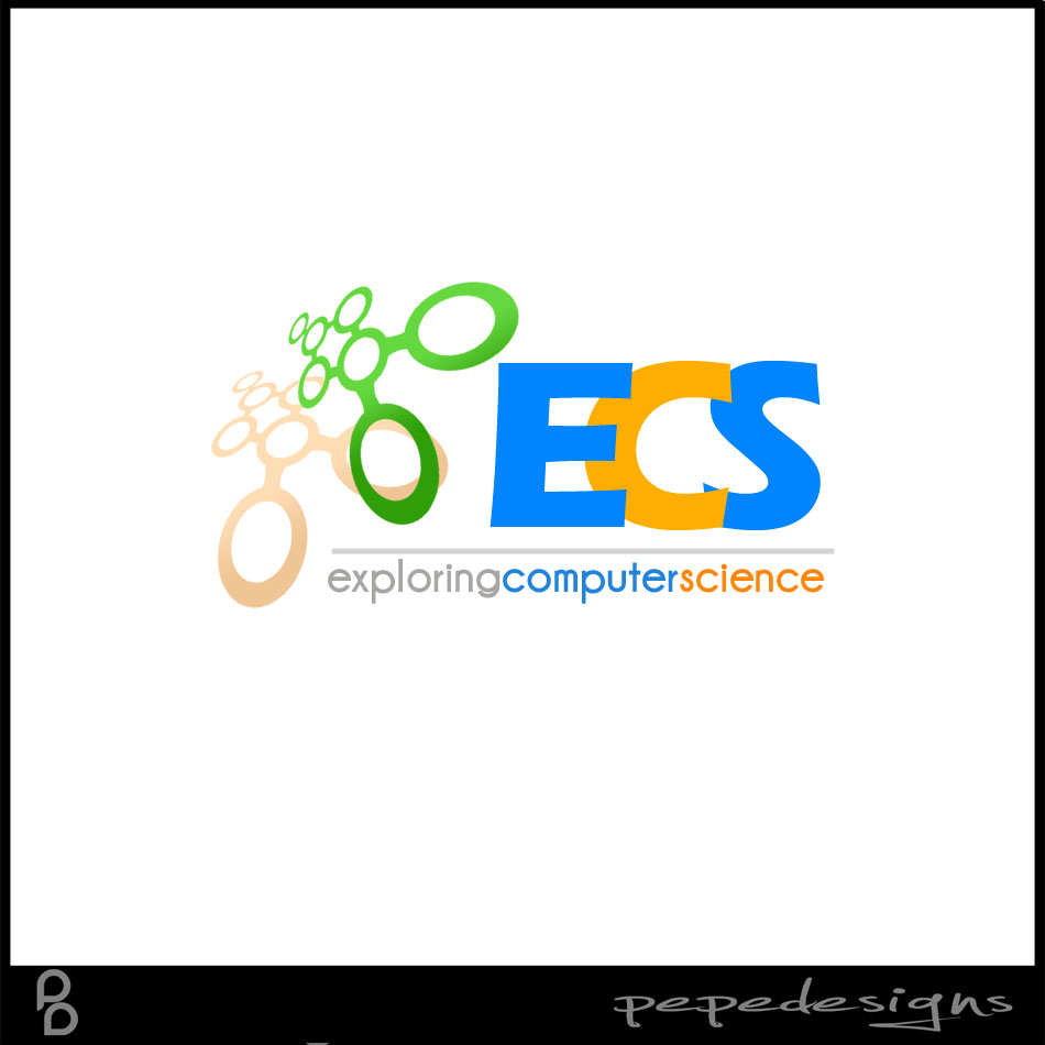 Logo Design by Joseph Lemuel Lacatan - Entry No. 146 in the Logo Design Contest ECS - Exploring Computer Science.
