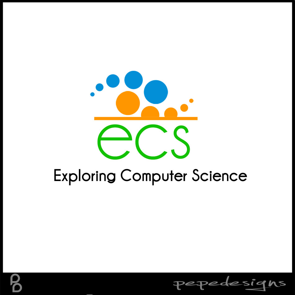 Logo Design by Joseph Lemuel Lacatan - Entry No. 149 in the Logo Design Contest ECS - Exploring Computer Science.