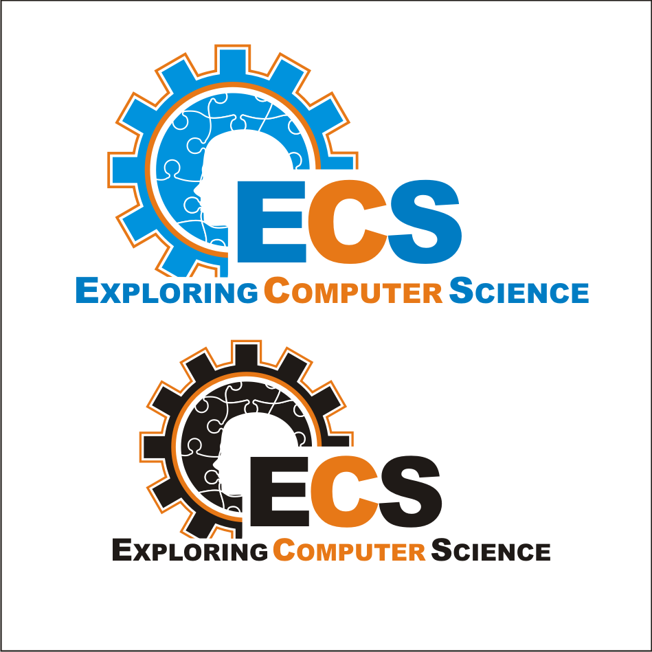 Logo Design by vector.five - Entry No. 165 in the Logo Design Contest ECS - Exploring Computer Science.