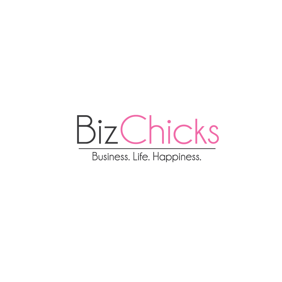 Logo Design by moonflower - Entry No. 11 in the Logo Design Contest BizChicks e-magazine.